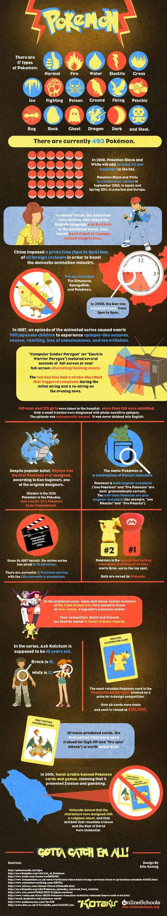 Gotta Catch Em All Infographic