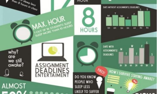 Why We Sleep Less Than 8 Hours Infographic
