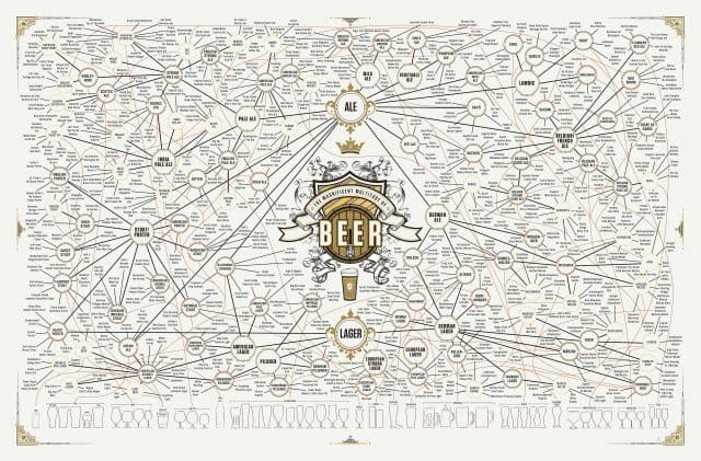 Magnificent Multitude Of Beer Infographic