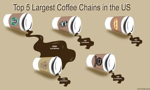 Top 5 Largest Coffee Chains in the U.S.