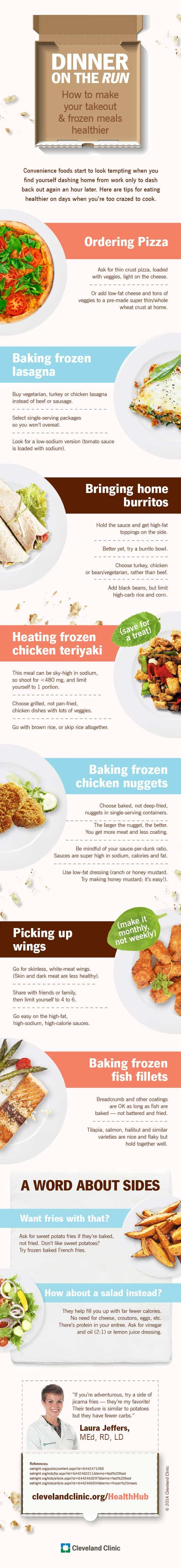 How to Make Your takeout & Frozen Meals Healthier