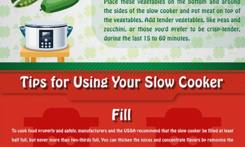 Ultimate Slow Cooker Cooking Guide Infographic