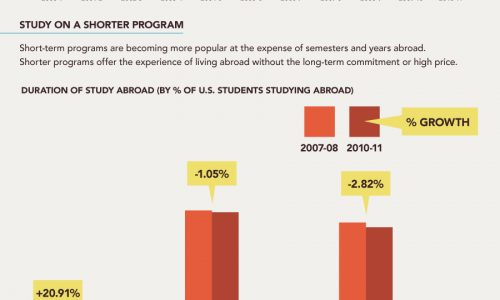 New Face of Study Abroad Infographic