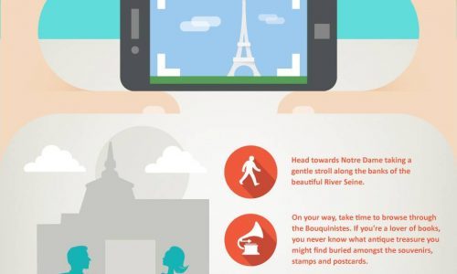 21 Fabulous Things To-Do in Paris Infographic
