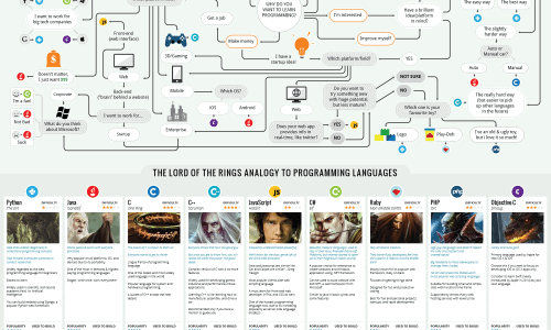 Programming Language Infographic