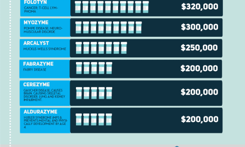 What Are The Most Expensive Prescription Drugs Infographic
