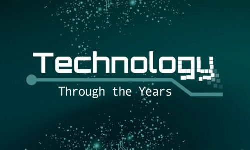 Technology through the years_static