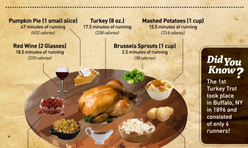 Thanksgiving Meals Infographic