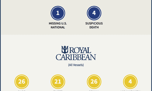 Major Cruise Ship Accidents Infographic