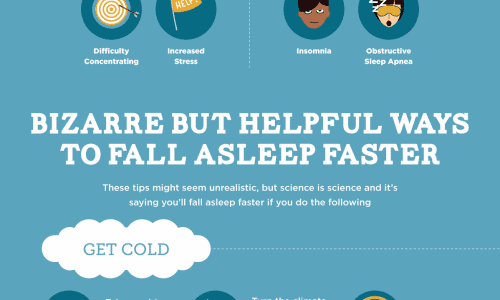 Bizarre Ways to Help You Fall Asleep Infographic
