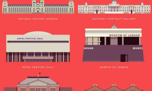 Top 23 Museums in London Infographic