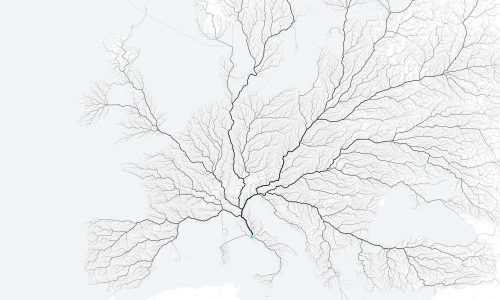 Roads that Lead to Rome Infographic