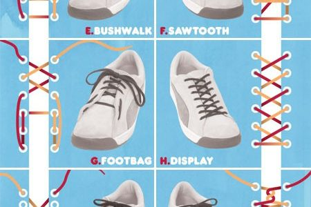 14 unconventional ways to lace up your sneakers