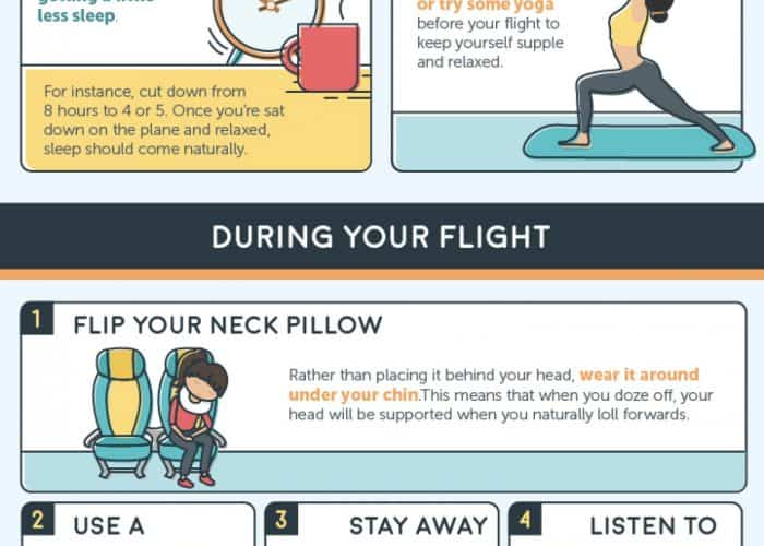 The 10 Best Ways To Fall Asleep On A Plane