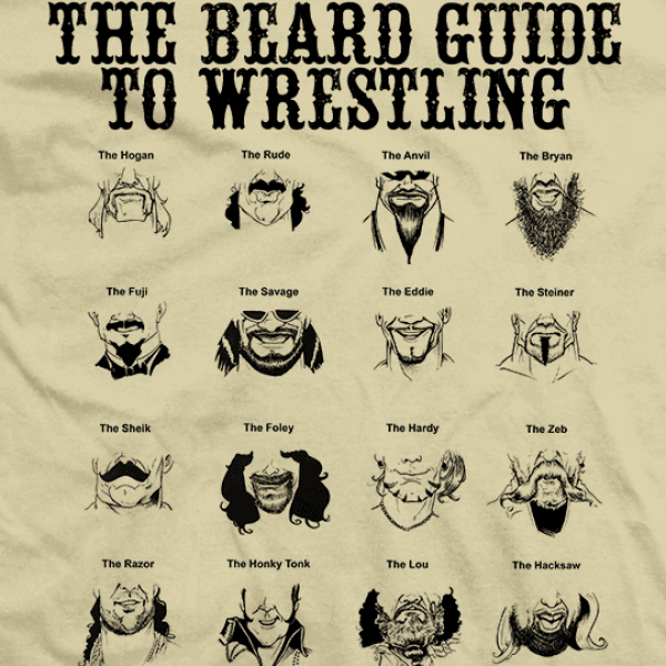beard guide to wrestling