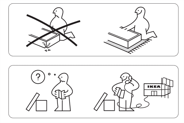IKEA how-to infographic