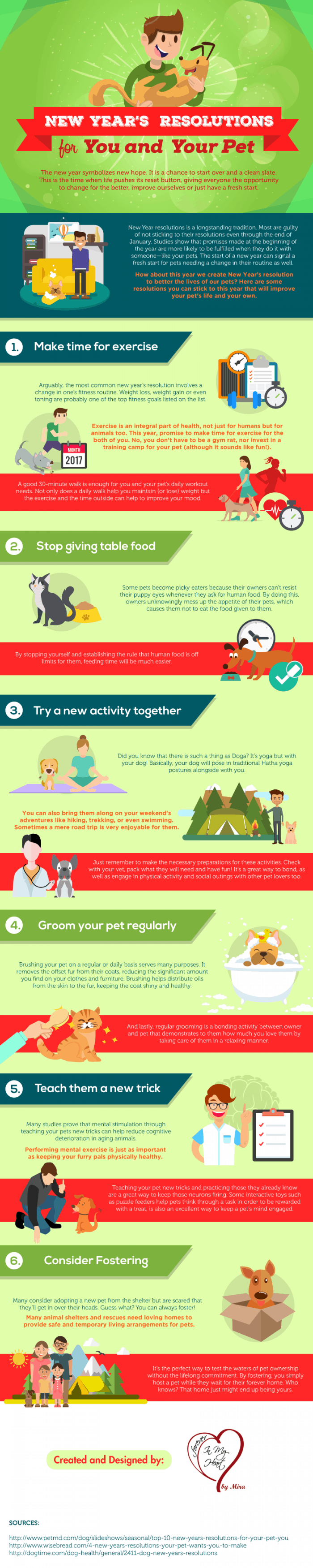 New years resolutions for you and your pet