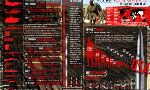 Global Arms Trade Infographic
