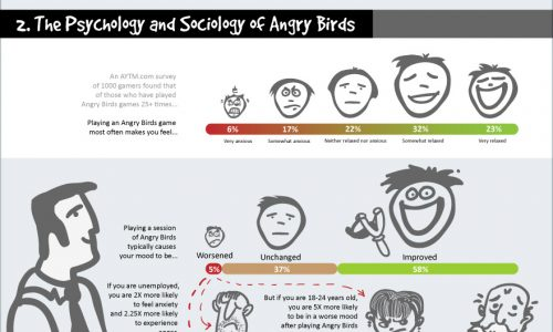 Angry Birds Addiction Infographic