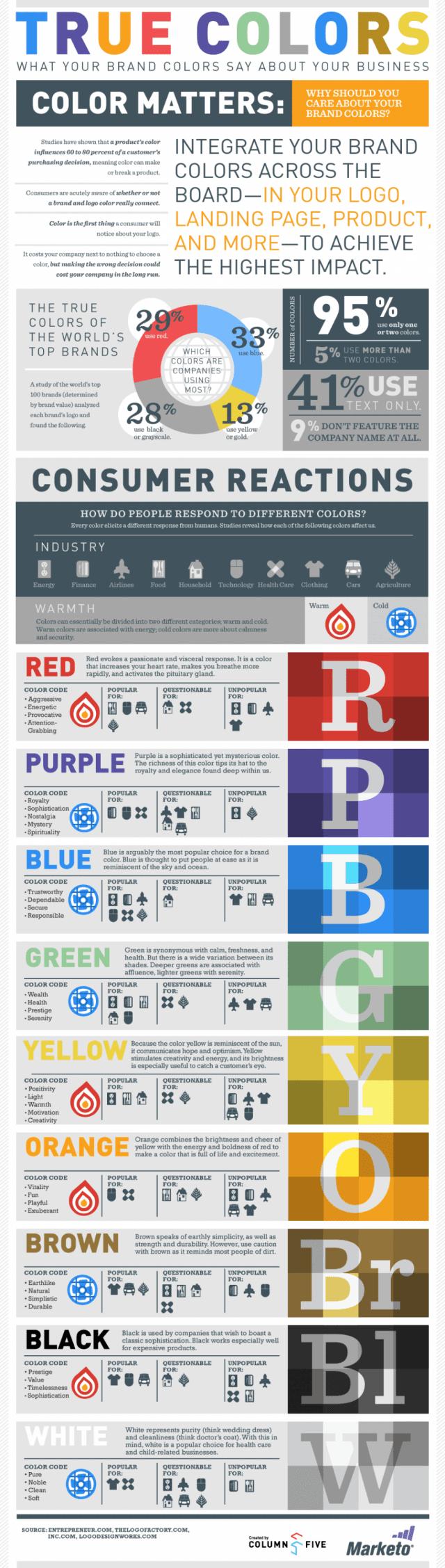 True Colors Branded Colors