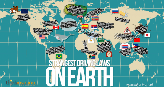 Strangest Driving Laws On Earth