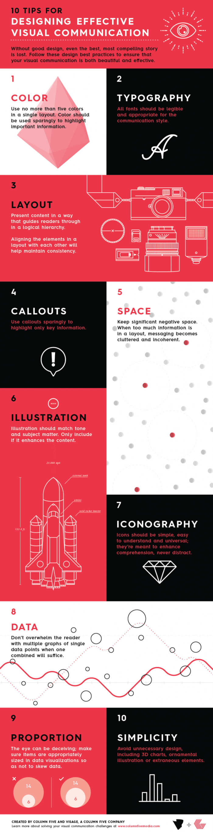 10 Tips for Good Design Infographic