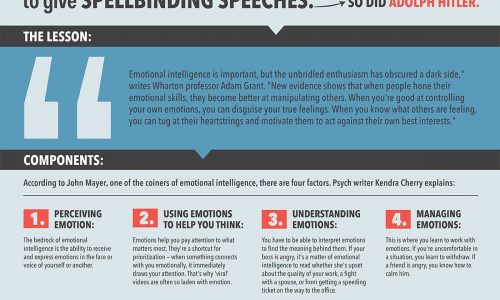 Emotional Intelligence Isn't Being Nice To People Infographic