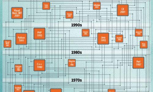 Programming Languages Infographic