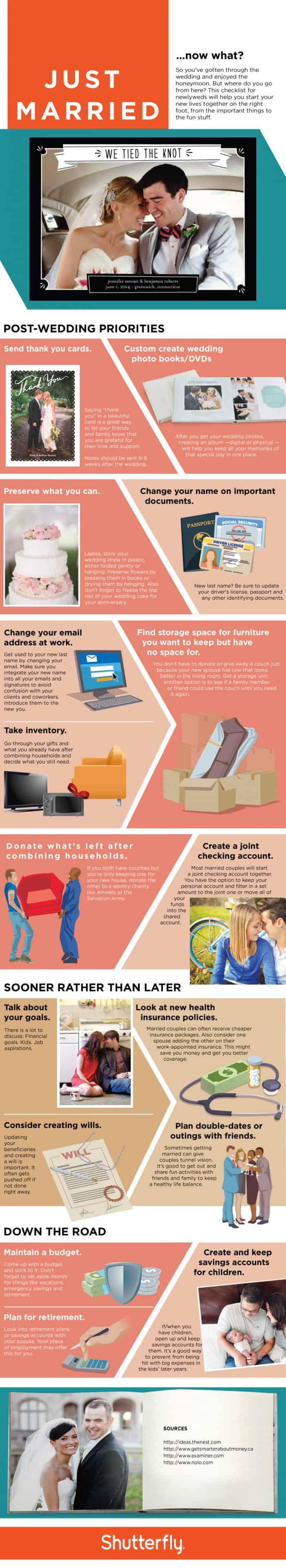 Wedding Checklist Infographic