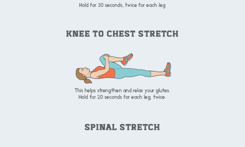 Guide How to Relieve Back Pain Infographic