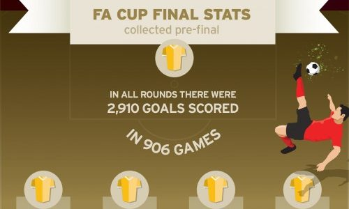 Fa cup final 2015 infographic