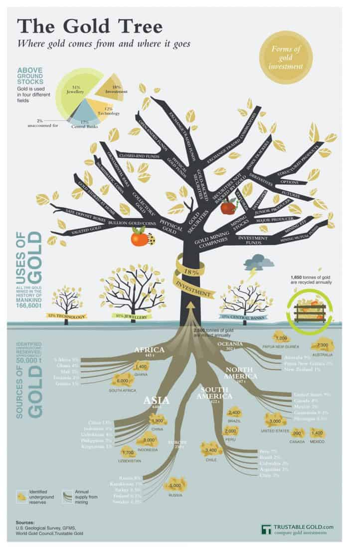 Gold Tree Infographic
