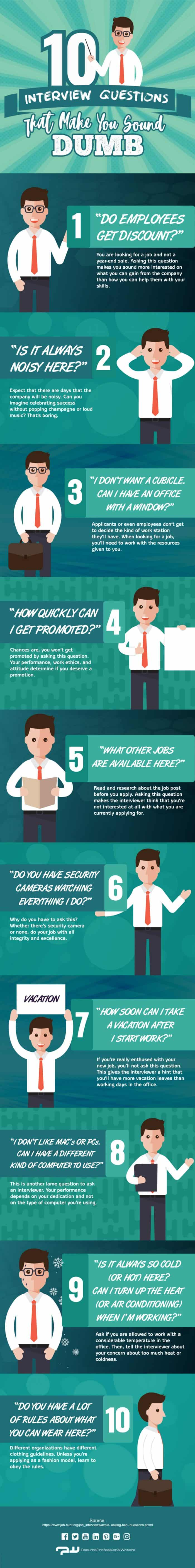 interview questions to avoid that make you sound stupi