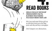 Infographic on how to improve your creative thinking and avoid creative blocks