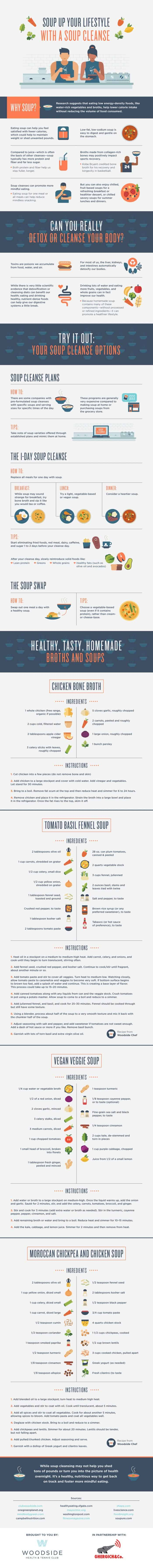 Change Up Your Diet With A Soup-Filled Cleanse