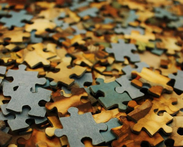 jigsaw pieces - putting what you've learned to use in everyday life