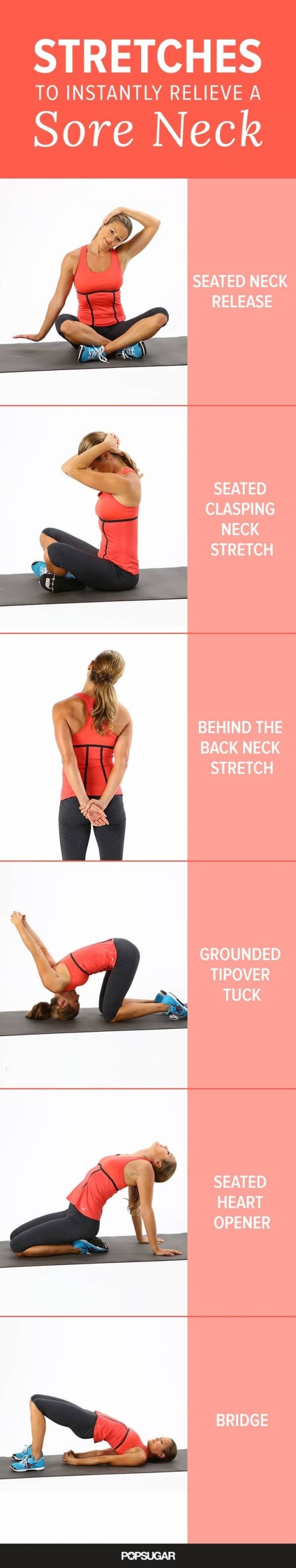 8 stretches for a sore neck