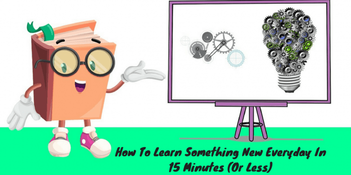 how to learn something new everyday header image