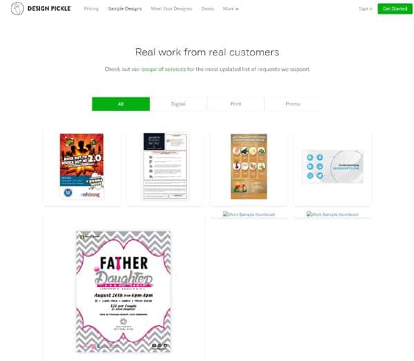 Design Pickle graphic design service review