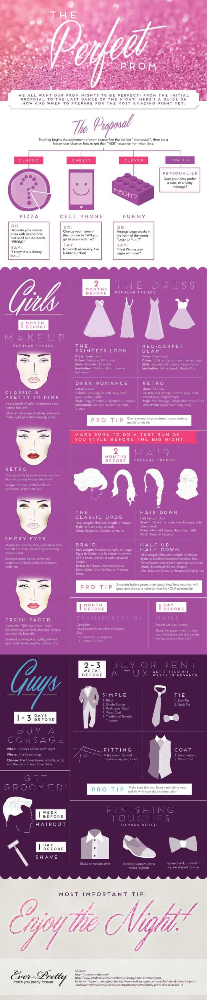 Guide to the perfect prom