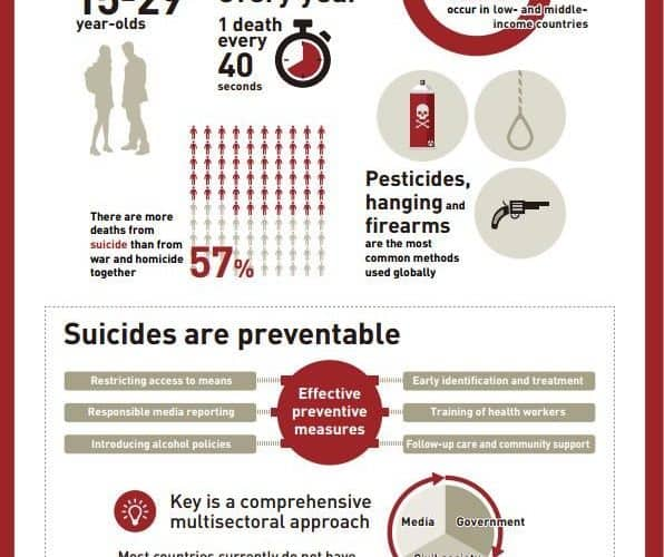 Infographic on Suicide