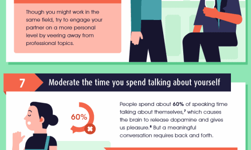 Have more meaningful convos infographic