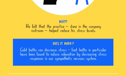 How Creative Ideas Get Their Ideas Infographic
