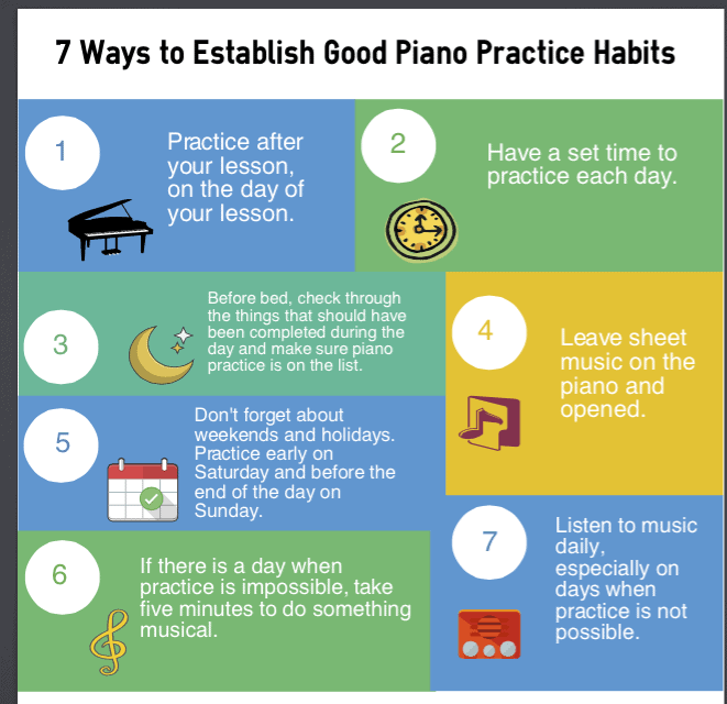 10 Simple Tips For Social Media Best Practice: Easy Tips To Improve Your Piano Practice