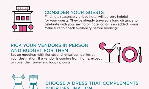 Steps To Plan A Destination Wedding
