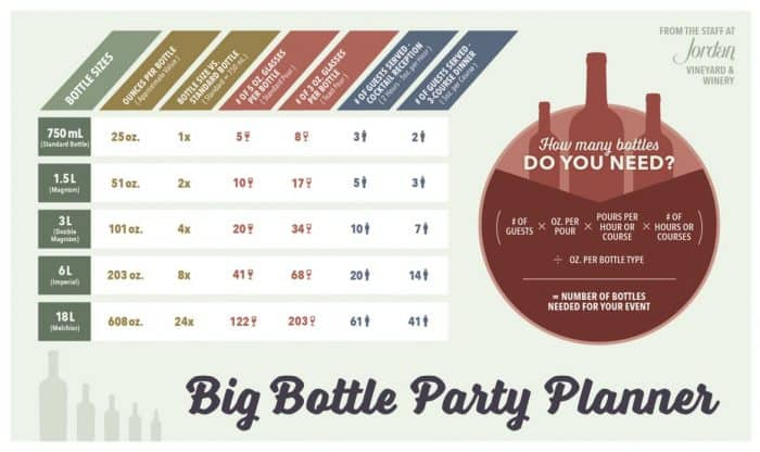 Wine Party Planning Infographic