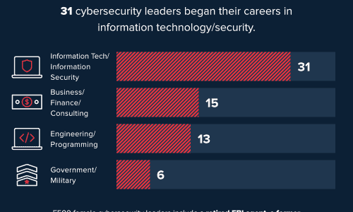 statistics of women working in cybersecurity in Fortune 500 companies