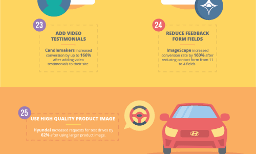 46 optimization hacks infographic