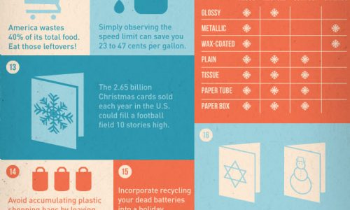 tips and tricks to have a more environmentally friendly holiday season