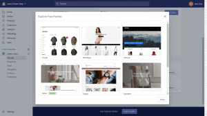 free customizing theme options for a shopify store
